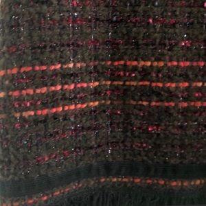 kate spade Dresses - Kate Spade Multi Tweed Fringe Dress